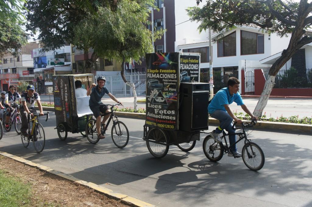 Fabien se recycle en vélo-taxi