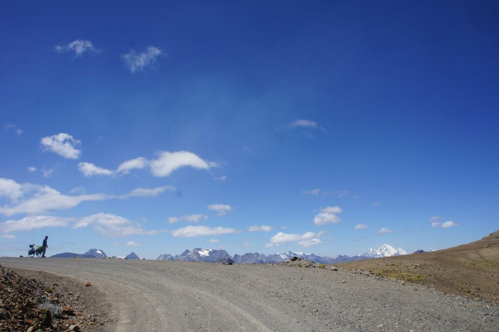 Chaque montée nous permet d'admirer un superbe panorama