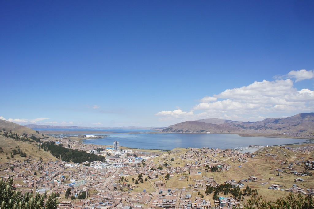 Puno au bord du lac Titicaca