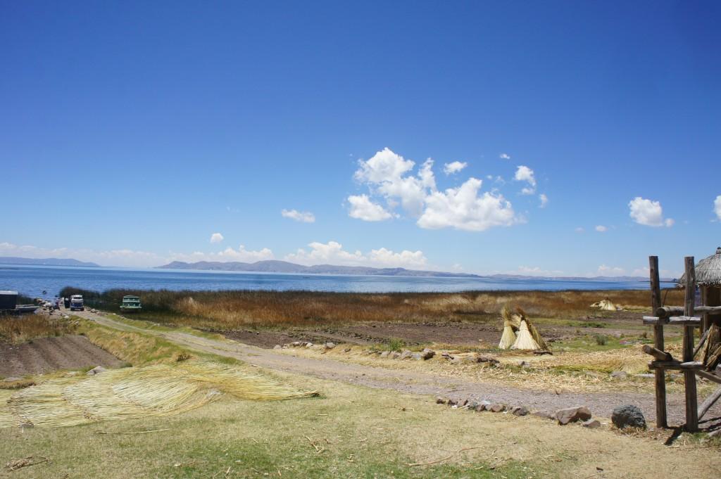 Les rives du lac Titicaca